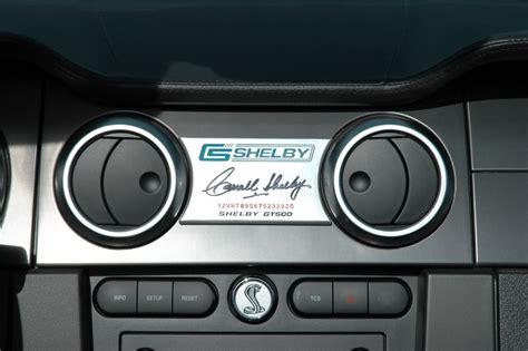 auto body repair training 2007 ford gt500 instrument cluster dash plaque svtperformance com
