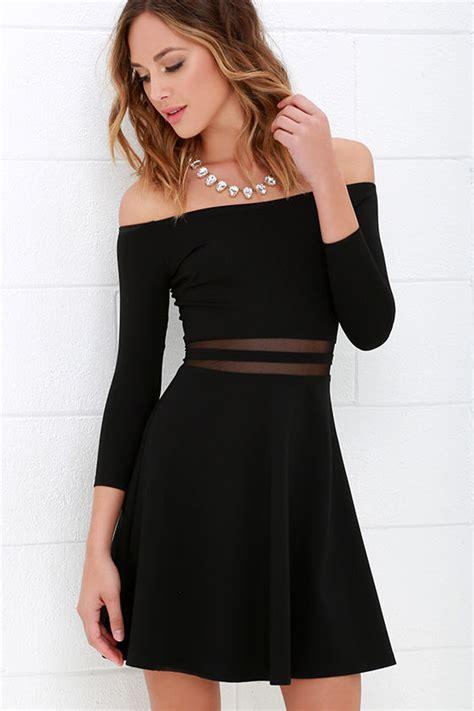 Dress Yes 2 yes to the mesh black skater dress skater skirt black
