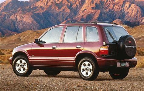 Kia Sportage 1996 1996 Kia Sportage Information And Photos Zombiedrive