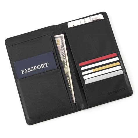 Select Comfort Credit Card by Samsonite Travel Wallet