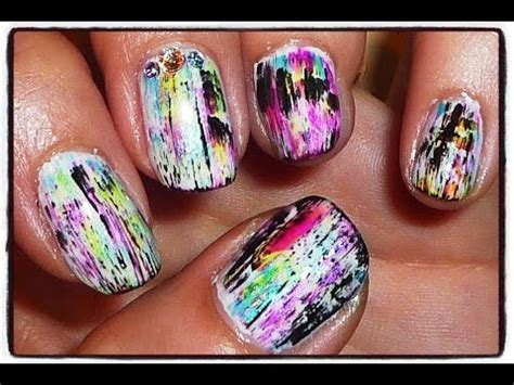crackle nail make your own crackle effect nail design