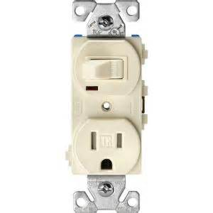eaton 15 amp ter resistant combination single pole toggle switch and 2 pole receptacle light