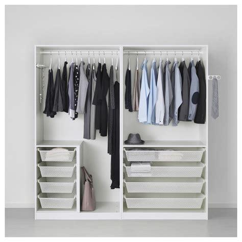 ikea sliding shelves pax wardrobe white hasvik high gloss white 200x66x201 cm