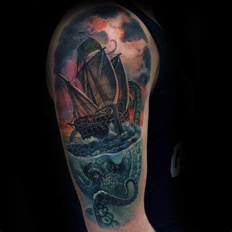 tattoo ideas kraken 100 kraken tattoo designs for men tattoos for men