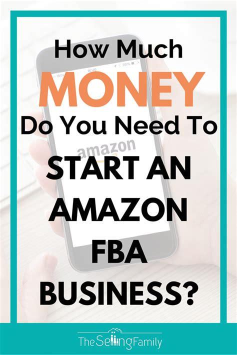 How Much Do I Have On My Amazon Gift Card - how much money do you need to start an amazon fba business the selling family