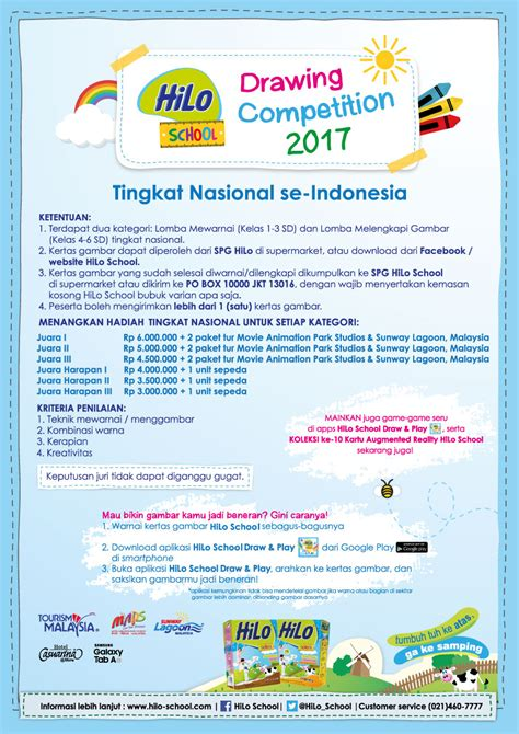Hilo Di Carrefour Hilo School Drawing Competition 2017 Tingkat Nasional