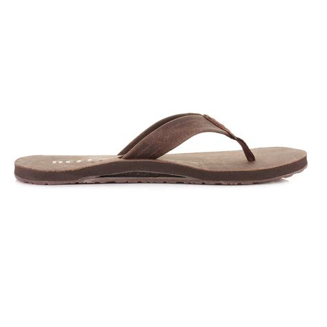 reef sandals with bottle opener mens reef draftsmen chocolate leather bottle opener flip
