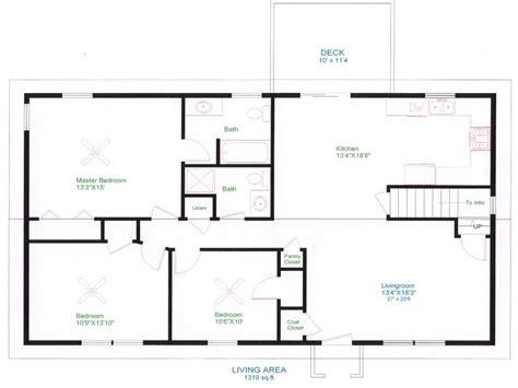 Ranch House Floor Plans Unique Open Floor Plans, easy to