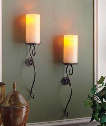 winfield home decor ltd sets of 2 led candle wall sconces ltd commodities