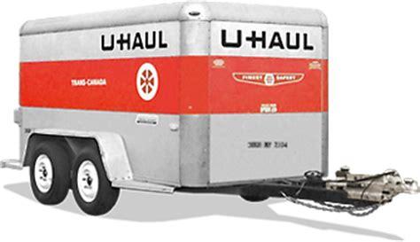 haul  enclosed cargo trailer rental