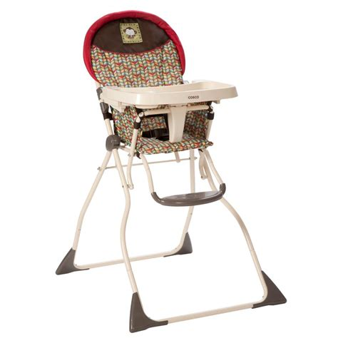 cosco slim fold high chair kanzi childrens