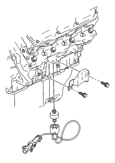 How To Replace Bank 2 Knock Sensor On 1999 Buick Regal 3.8