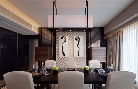 Modern Dining Room Synergistic Modern Spaces By Steve Leung