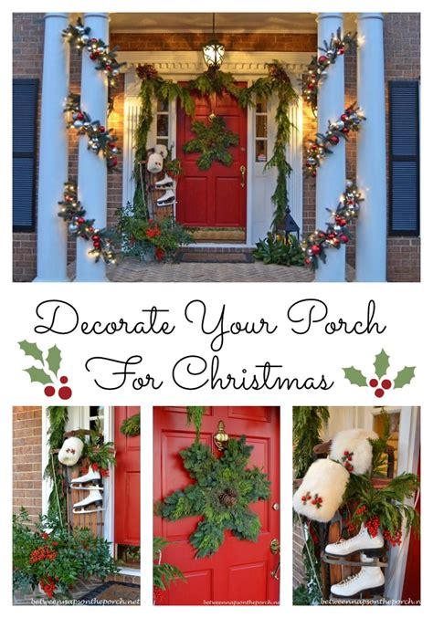 decorating your porch for decorating the porch for with garland