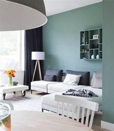 farbe im wohnzimmer trendige farben f 252 r die wohnzimmerw 228 nde 25 ideen