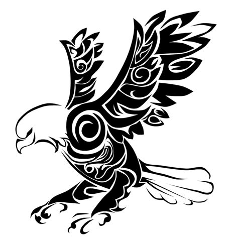 tribal eagle tattoos eagle tattoos designs ideas and meaning tattoos for you