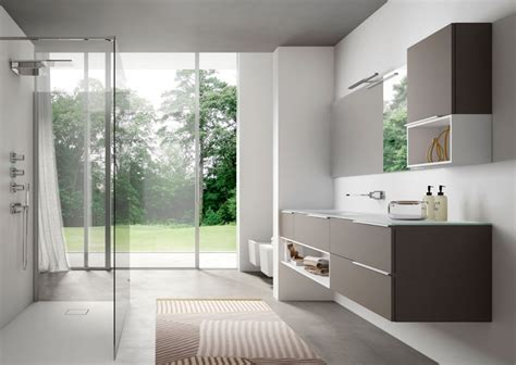 stanze da bagno moderne my time mobili per bagno moderno e contemporaneo ideagroup