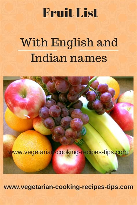 x fruit names fruit list list of fruits with fruit names in