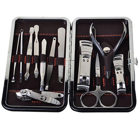 Manicure Set Isi 12 6 aliexpress buy 12pcs set manicure set nail care set