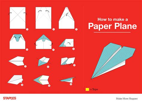Make World Record Paper Airplane - 3 ways to get creative with paper staples 174