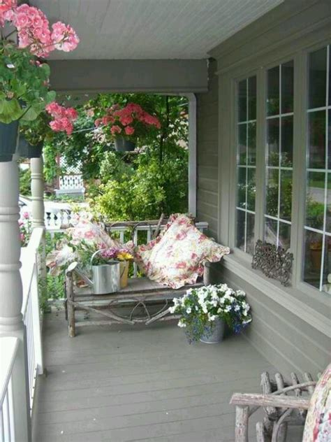 back porch ideas casual cottage 145 best images about vintage porch deck decor on