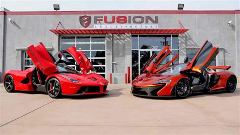 one dealer has a laferrari and mclaren p1 for sale top gear