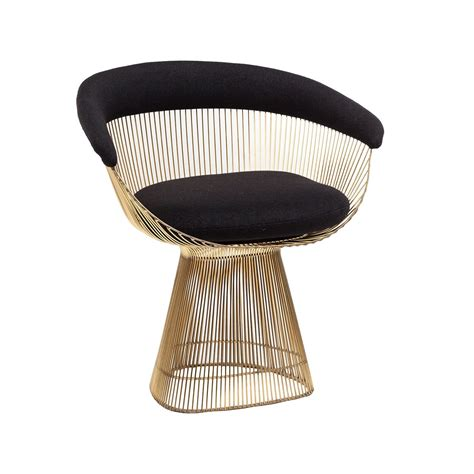 Platner Dining Chair Platner Dining Chair In Gold Mid Century Modern Design Stainless Steel Wire And Dining Chairs