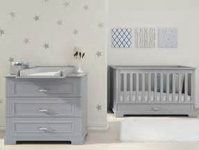 Gray Nursery Furniture Sets Baby Grey Cot Bed Chest Of Drawers Changing Table Nursery Furniture Set