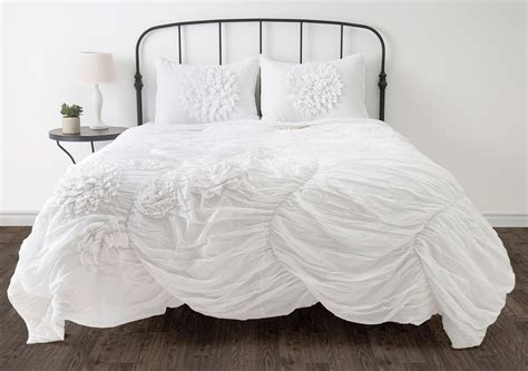 white twin bed comforter hush white twin size comforter bed set from michael anthony