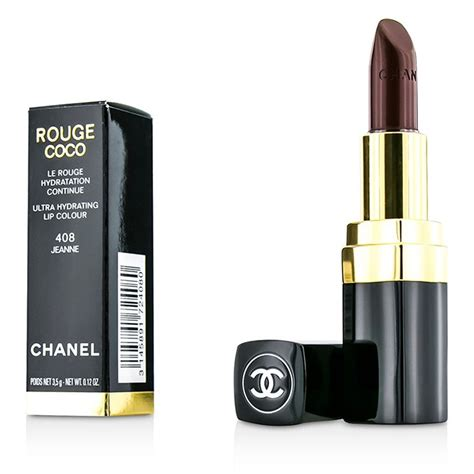 Chanel Lipstick Jeanne chanel coco ultra hydrating lip colour 408 jeanne fresh