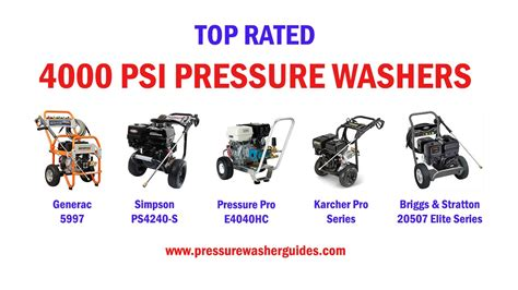 Top 5 Pressure Washers - top 4000 psi pressure washers