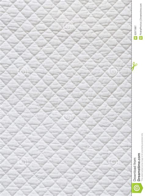 White Quilted Fabric by White Quilted Fabric Stock Photo Image 62971887