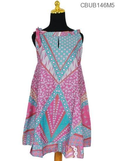dress batik cantik tali motif sinaran dress murah