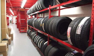 Tire Rack Rotation by Tire Storage Trammell Equipment Company