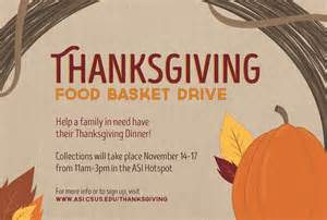 thanksgiving help for families in need help a family in need asi associated students inc