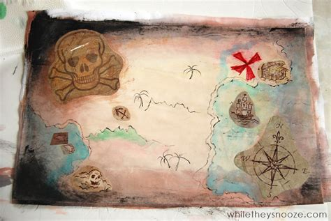 How To Make A Paper Map - 31 easy pirate ideas tgif this is