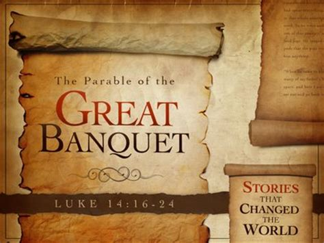 parable of the dinner parable of the great banquet t1
