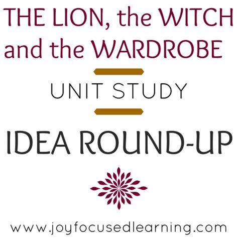 The The Witch And The Wardrobe Unit Study by The The Witch And The Wardrobe Unit Study Idea