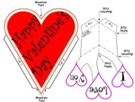 valentines pop up cards templates hacked free s day pop up card