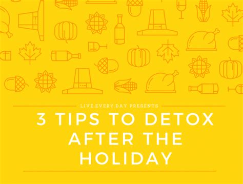 How To Detox After New Year by 3 Tips To Detox After The Holidays City Of Light Church