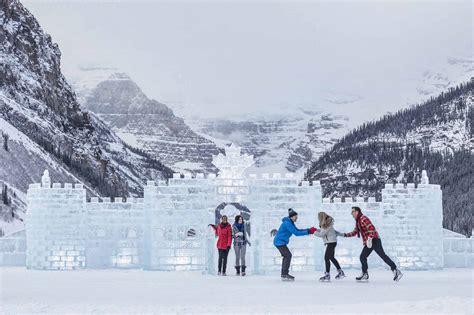 banff ice magic festival banff lake louise tourism