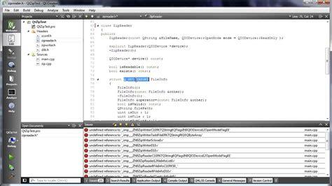 qt tutorial voidrealms c qt 115 making qzipreader and qzipwriter work in