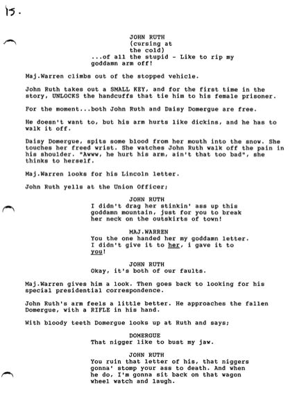 Read Quentin Tarantino's Leaked Script For His Cancelled