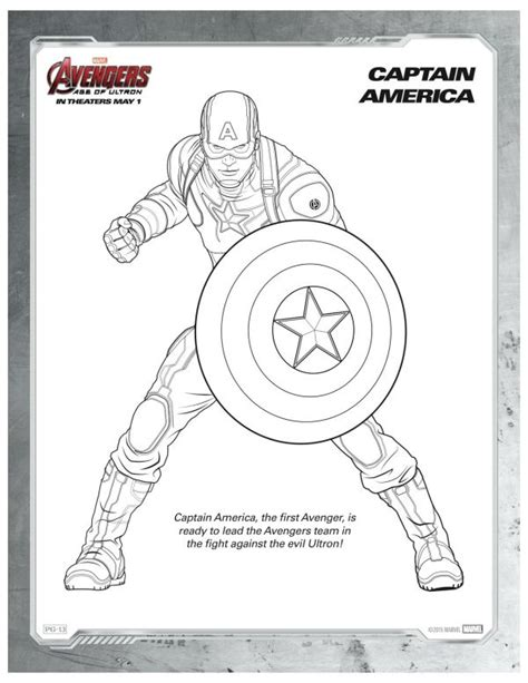 marvel coloring pages captain america marvel avengers captain america coloring page super hero