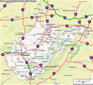 west road map maps west virginia search all me