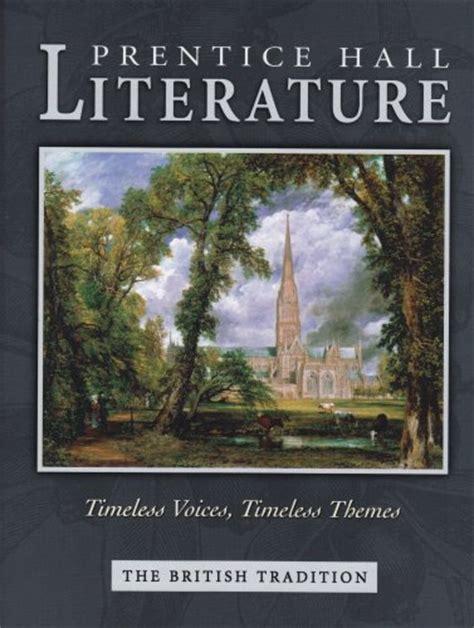 themes british literature ebook prentice hall literature the british tradition