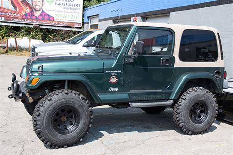 Jeep Wrangler Ta 1999 Jeep Wrangler Tj Go4x4it A Rubitrux