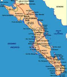 Map Of Baja California Mexico by Baja California Sur Map Travel Baja Mexico Guide