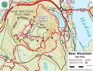 Harriman State Park Trail Map by Harriman State Park Hiking Bear Mountain Harriman
