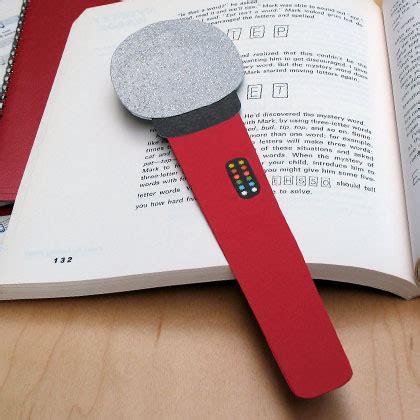 How To Make Paper Microphone - high school musical microphone bookmark disney family